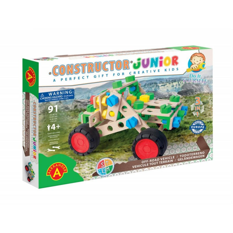 KONSTRUKTORS JUNIOR 3x1-OFF ROAD VEHICLE