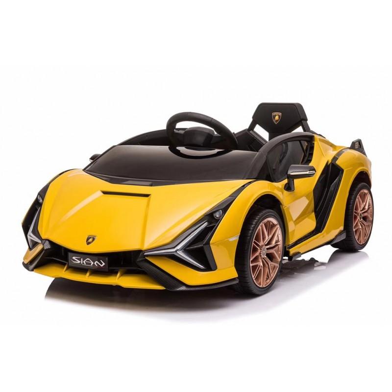 Elektroauto Lamborghini Sian 12V Yellow