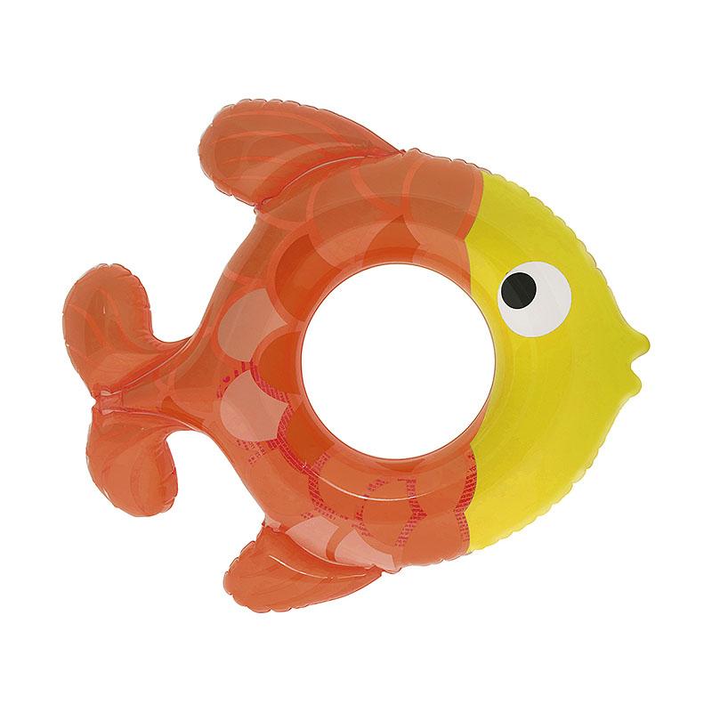 """Piepūšamais rinķis """" Zivs """" 75x63 cm"""