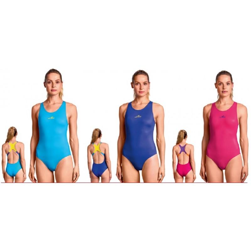 Aquafeel meiteņu kopējais sporta peldkostīms