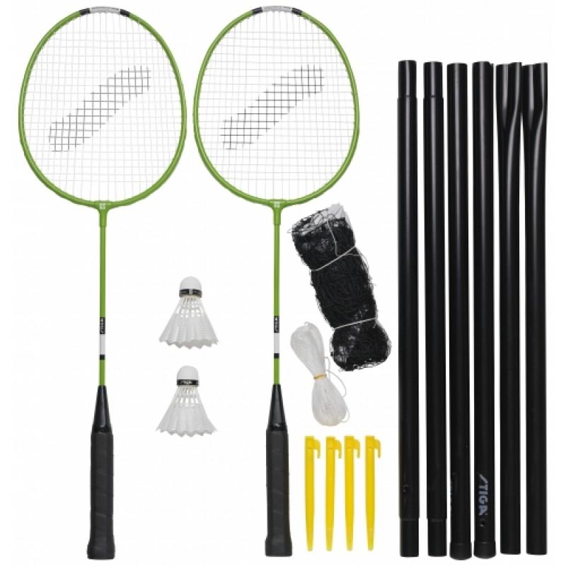Badmintona komplekts Garden GS (2 Pieaugušo raket...